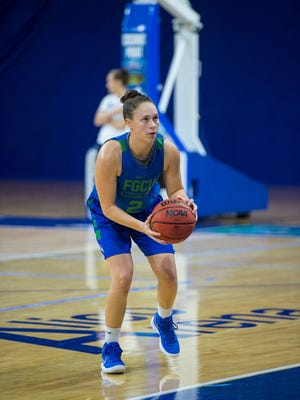 Although just a walk-on, freshman forward Alyssa Blair has been a big hit at FGCU and likely will play a big role this season.