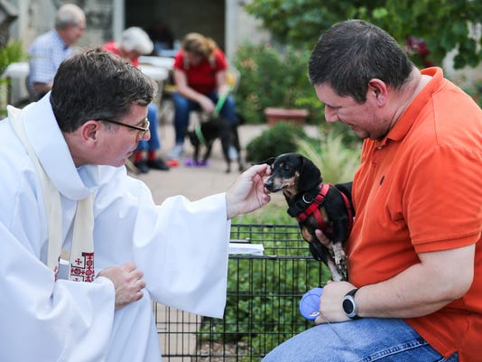 Blessing of the Animals Wednesday, Oct. 4