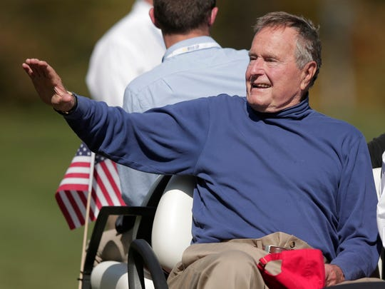 President George H.W. Bush and golf