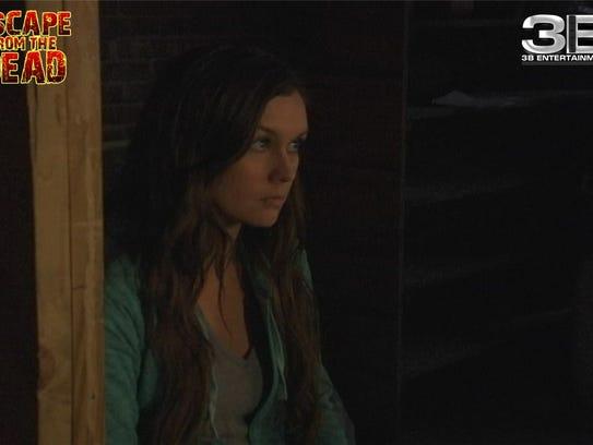 Actress Rebekah DeWild plays Ash, a stripper trying