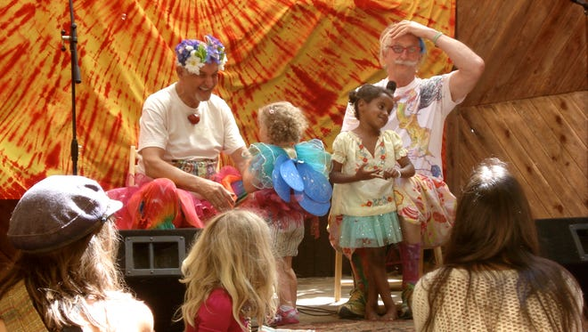 """Drs. Carl Hammerschlag (left) and Hunter """"Patch"""" Adams are bringing their health festival to Phoenix."""