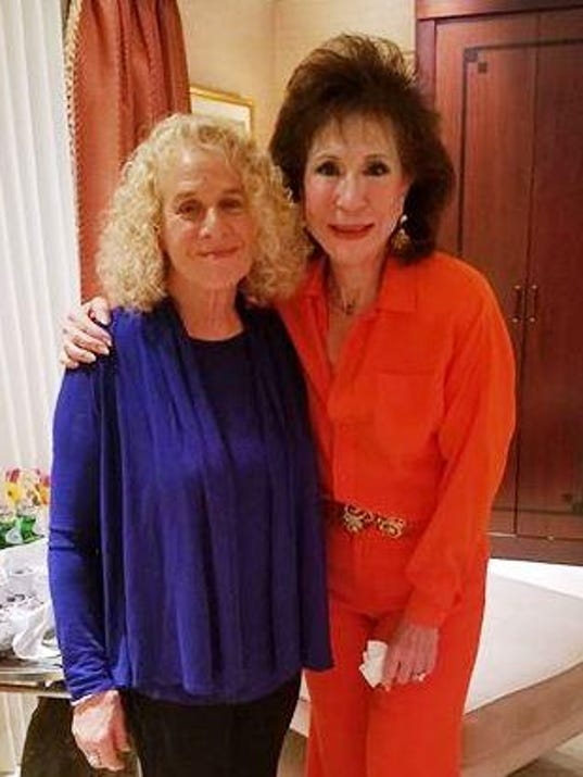 carole king and florine