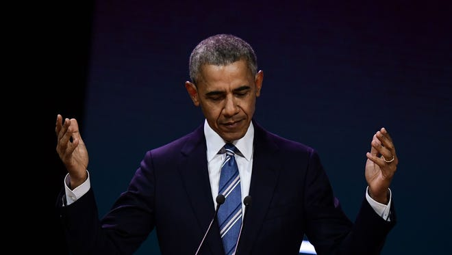Former President Barack Obama beat out President Donald Trump in Gallup's poll of most admired man and woman.