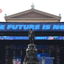NFL brings its made-for-TV event to Philadelphia and city seems to embrace it