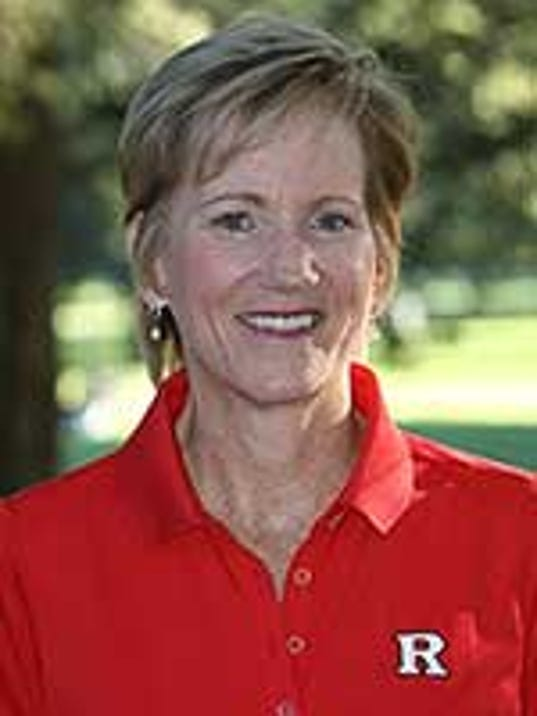 Women's golf coach Maura Ballard's team was the only one at Rutgers to score a perfect 1,000 in the multi-year APR. (Courtesy of ScarletKnights.com)