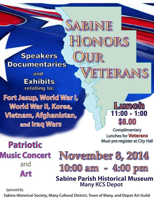 Sabine Parish Veterans Day meal poster.jpg