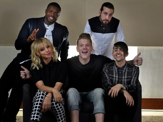 Pentatonix is 'starting to fall in love' with Nashville