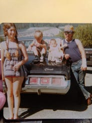 Teresa and Gary Wilson with their children, Leroy and