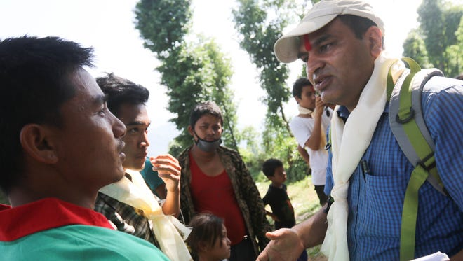 Ram Krishna Sahi says ever since a 7.8-magnitude earthquake struck Nepal on April 25, his wife is afraid to be alone, his mother is trying to forget and his only child fears the next big one.