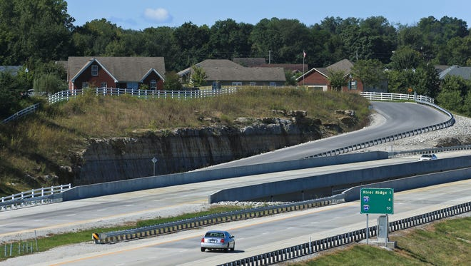 Interstate 265 near the Lewis and Clark Bridge has remained without billboards and Clark County wants it named a scene byway to block billboards along the road, where neighborhoods and green space dot the landscape.