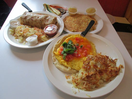 Harry's diner on Highway 42 is open seven days a week
