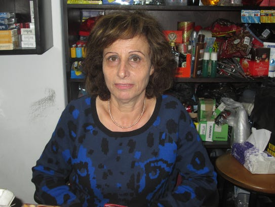 Samira  Habash, a Christian Arab shopkeeper in the
