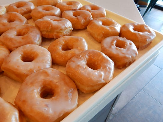 Creating a batch of Maynard's donuts is a process that