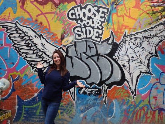 Zeynep Cifcili, 32, who's working toward a graduate