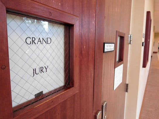 Grand jury meeting room