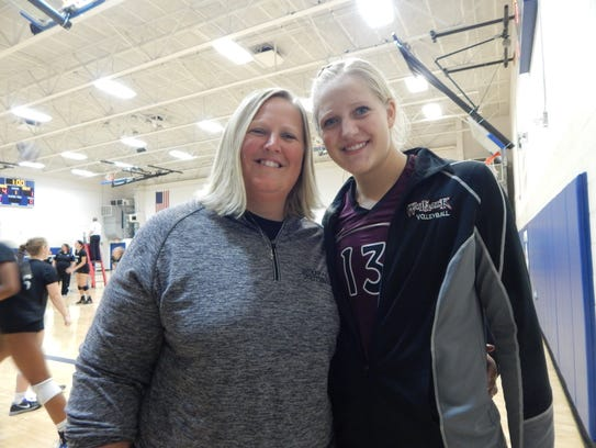 Western Christian's Tammi Veerbeek (left) has coached