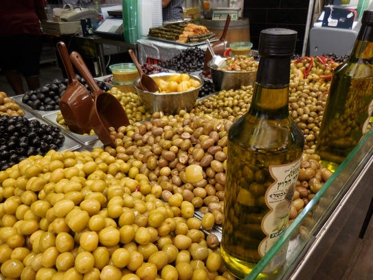 Chefs who came to Israel for the recent AMEX culinary tour got a chance to check out the open-air food markets.