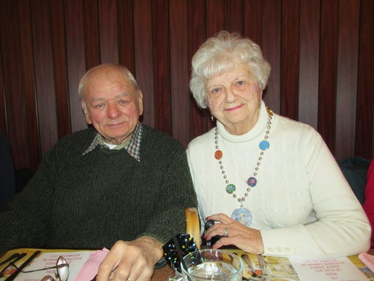 Mona Zipay, along with her husband Dick, celebrated