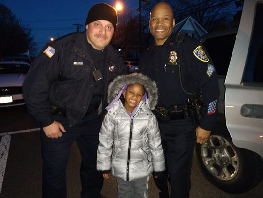 Clifton Officer Todd Compesi and Sgt. Josiah Smith
