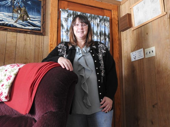 Deanna Bowers, of Coshocton, was the first patient