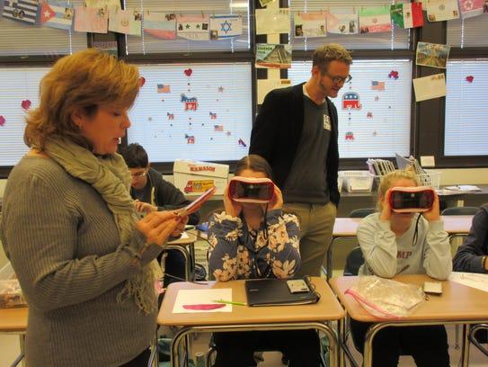 Westfield High School Social Studies classes welcomed