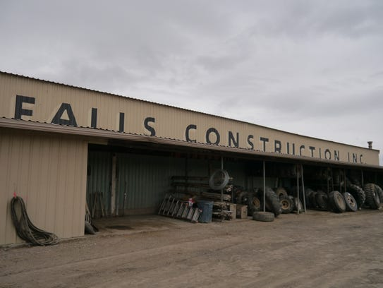 Falls Construction, founded in 1947, goes out of business