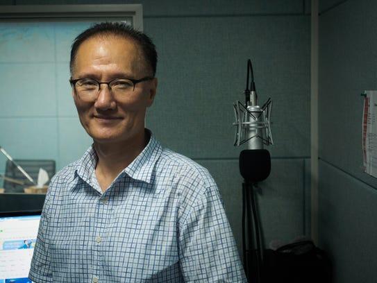 North Korean defector Kim Seung  Chul at the North