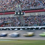 Race Action during the Daytona 500 auto race on Feb., 22, 2015 in Daytona Beach, Fla. (AP Photo/Reinhold Matay
