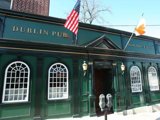 The Dublin Pub is a Morristown local favorite.