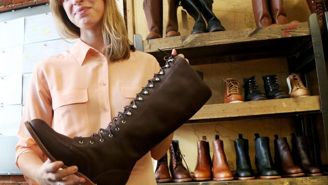 Allison Gettings, Red Wing Shoe director of product creation, says the company deconstructed and reconstructed the shoe for women.