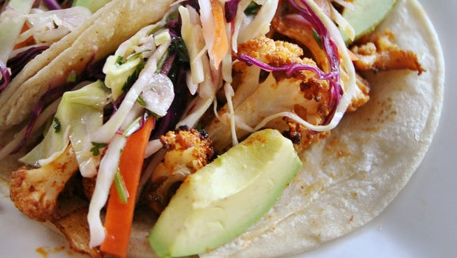 Cauliflower has stolen the spotlight from kale as the hot new food of 2015. Try it in a variety of ways like this Cauliflower Taco.
