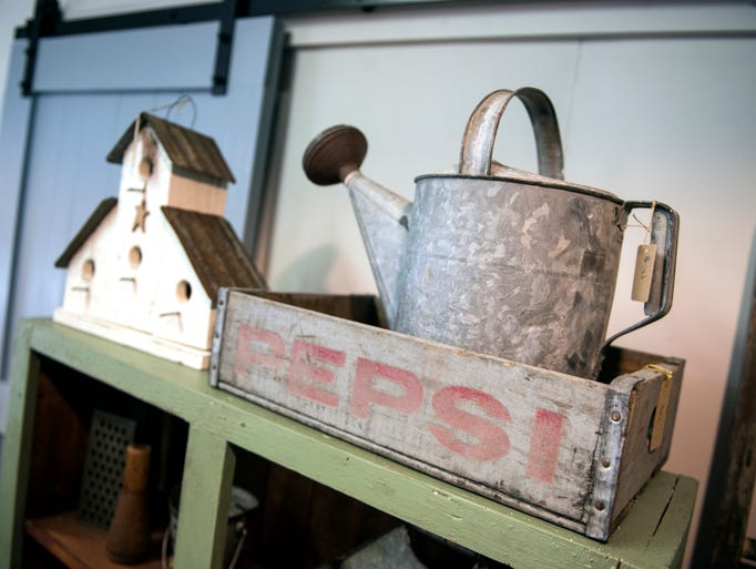 Decor at White Pines Vintage Farmhouse, Thursday, September