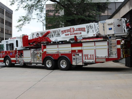 New Rochelle Fire Department's new Ladder 11 cost $1.2