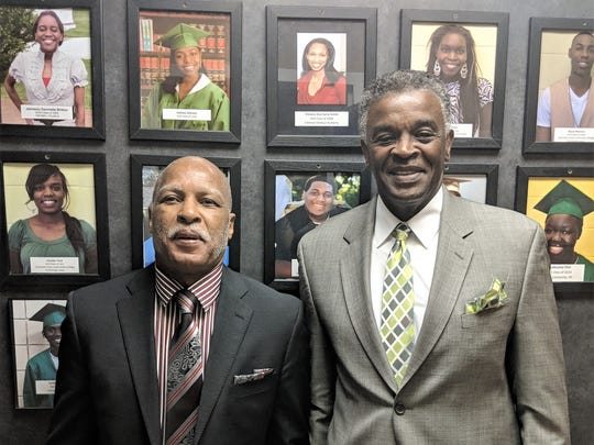 Children Are People, Inc. founder Fred Bailey (left)