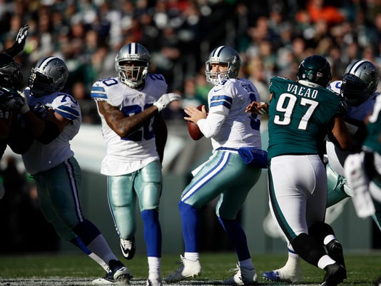 Cowboys-Eagles Romo