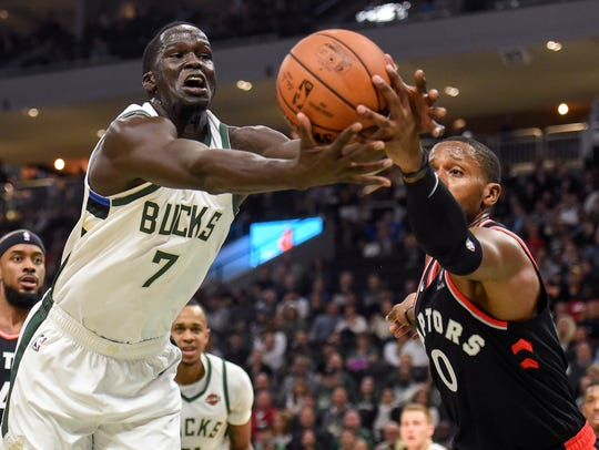 Oct 29, 2018; Milwaukee, WI, USA;  Milwaukee Bucks