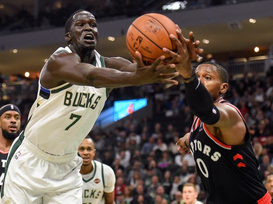 Oct 29, 2018; Milwaukee, WI, USA;  Milwaukee Bucks