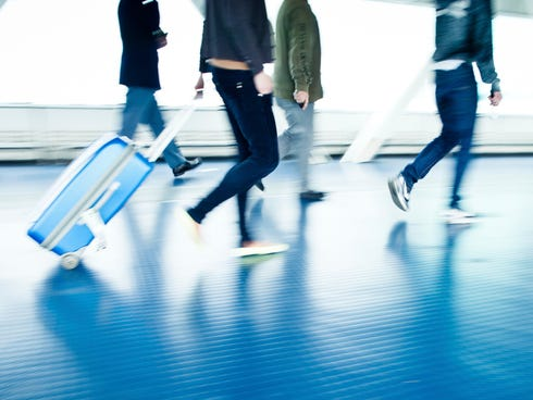 Upgrading to a well-made suitcase can help you speed to your gate faster.
