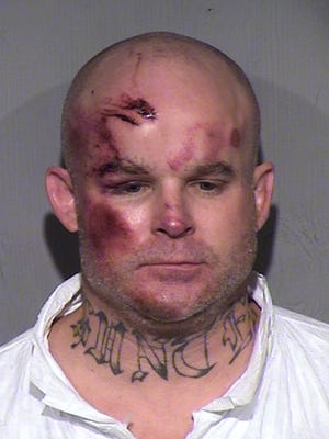 Ryan Giroux, 41, appeared in court Thursday, March 19, 2015, a day after police said he went on a murderous rampage in Mesa, Ariz.