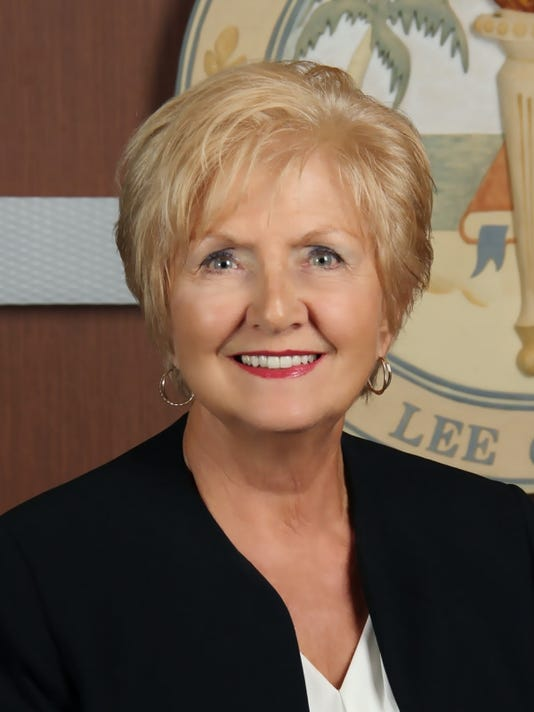 Mary Fischer, Lee County's school board vice chair