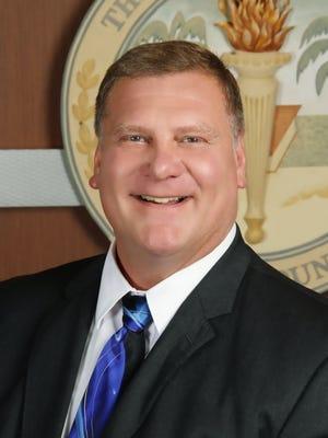Lee County school board member Steven Teuber.