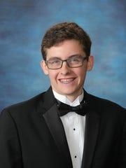 Samuel Garrison, valedictorian of Shannon Forest Christian