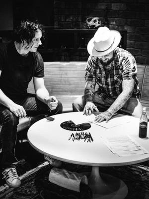 Jack White, left, has signed Nashville's Joshua Hedley, right, to his label Third Man Records