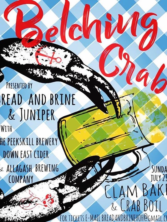belching crab flier