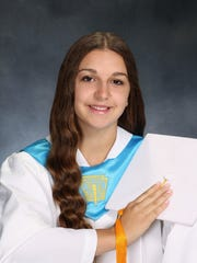 Megan Adam of Bridgewater, valedictorian.