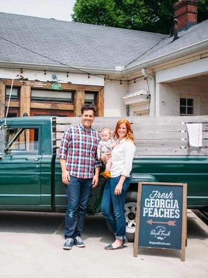 Stephen and Jessica Rose are the founders and owners of The Peach Truck, a company which sells fresh Georgia peaches across the country. The Peach Truck Tour is stopping in Monroe on Friday and again July 24.
