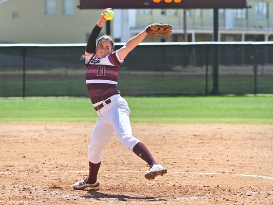 ULM vs. Texas State softball