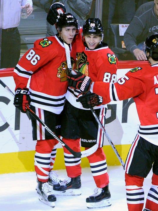 d706b2e73 NHL  Los Angeles Kings at Chicago Blackhawks