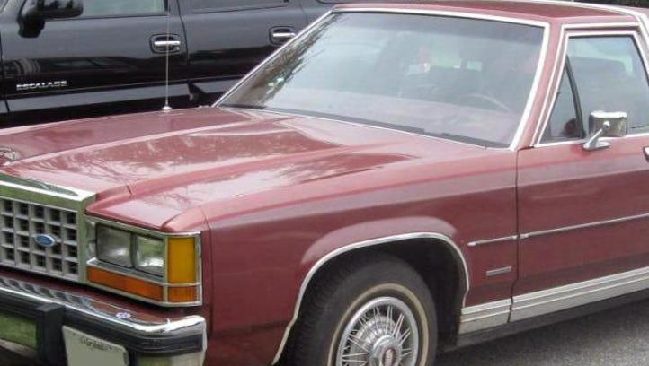 Police are looking for an older Ford Crown Victoria car in the hit-and-run case.