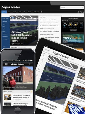 The new Argus Leader experience is launching on desktop, tablet and phone.